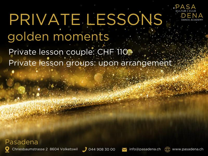 Private dance lessons Pasadena