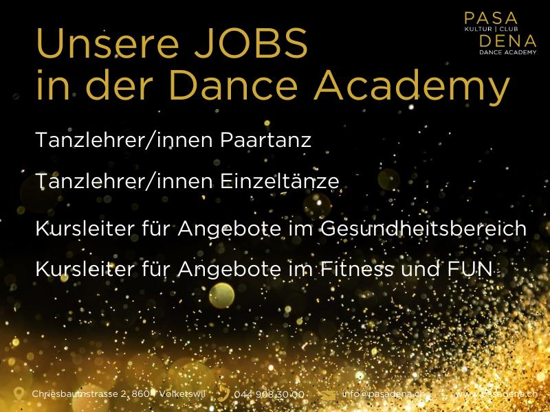 Pasadena Jobs in der Dance Academy